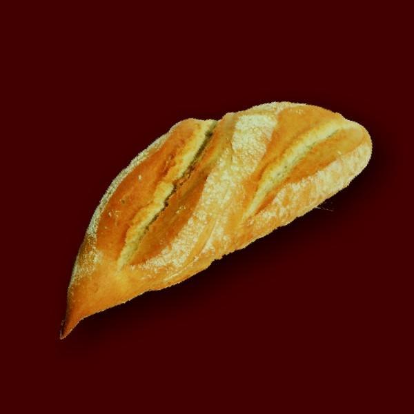 Pão de Trigo 100gr <p>Pão de farinha de trigo de textura alveolada e macia.</p>